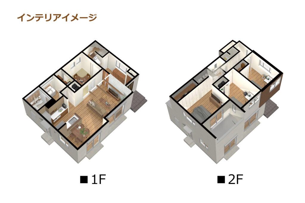 5_間取図_planA-9_CH緑の丘(吉根)_インテリアイメージのみ