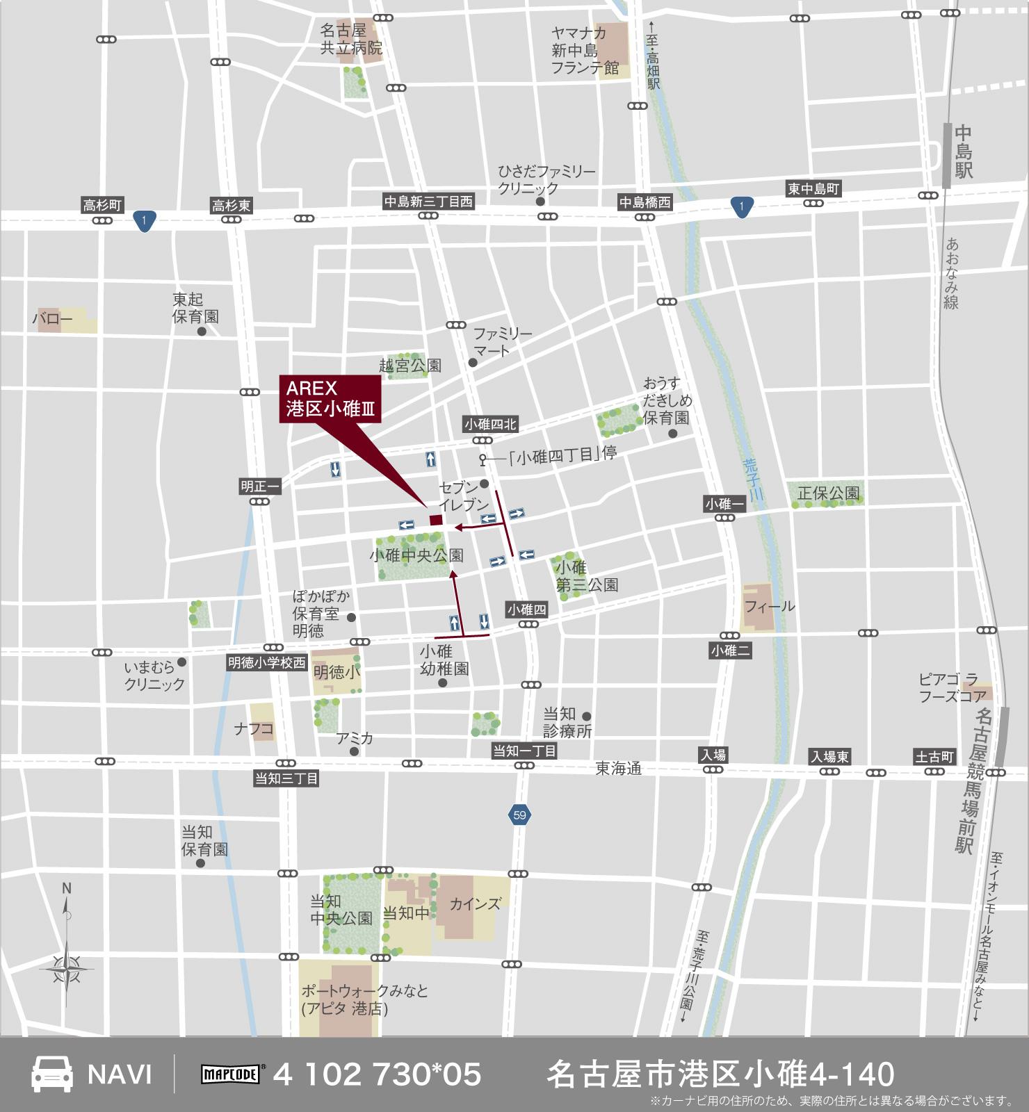 3_地図_港区小碓3
