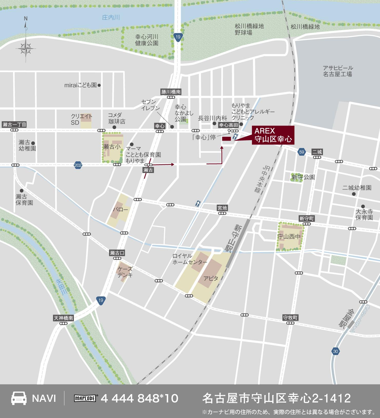 3_地図_守山区幸心