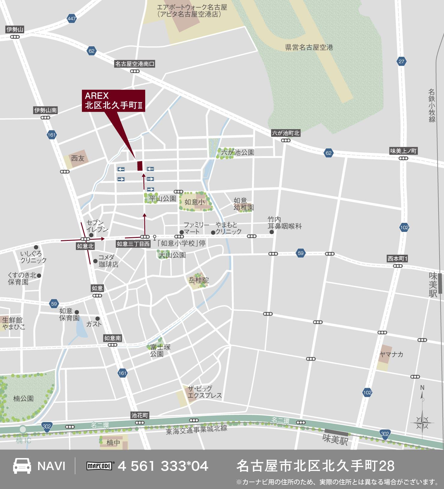 3_地図_北区北久手町2